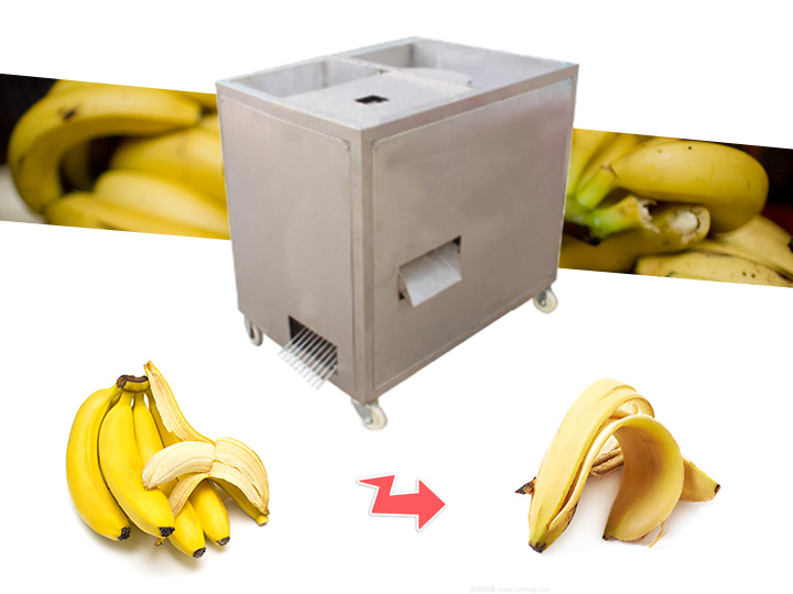 green banana plantain peeling machine