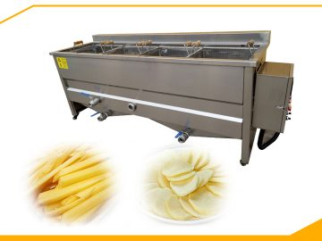 potato blanching machine