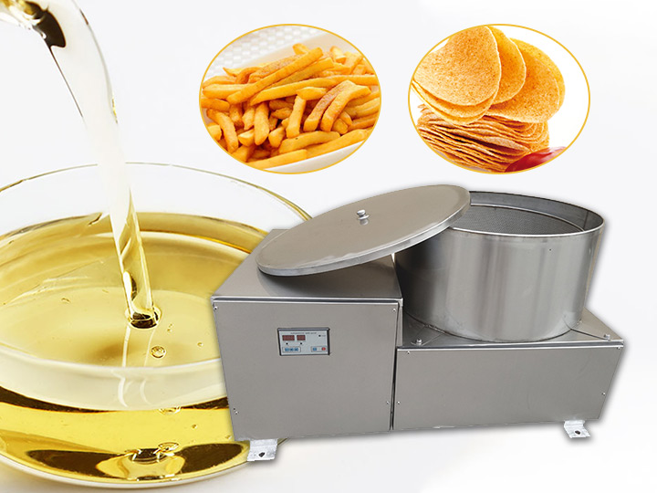 potato chips dewatering machine
