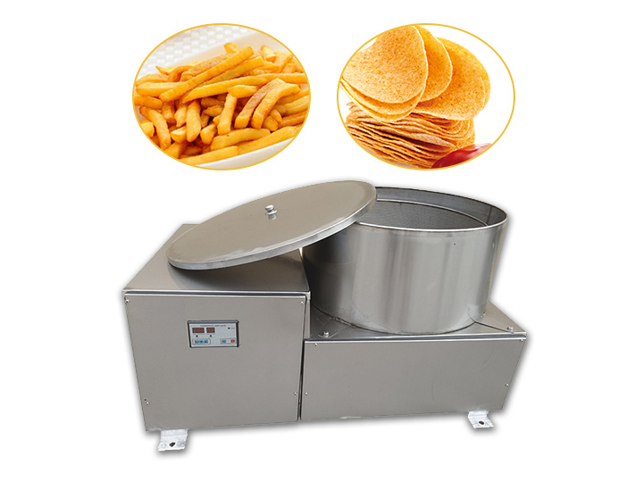 potato chips deoiling machine