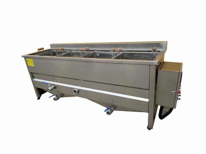 potato blanching machinery