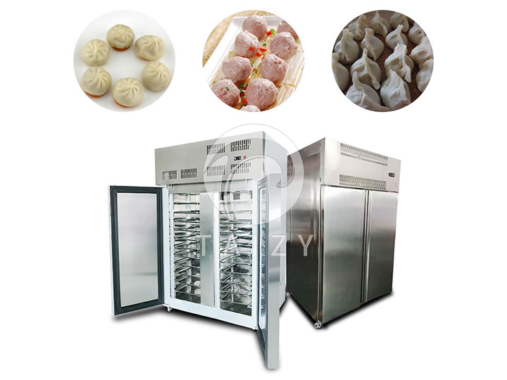 industrial quick french fries freezer is also suitable for freezing Steamed buns, dumplings, meatballs