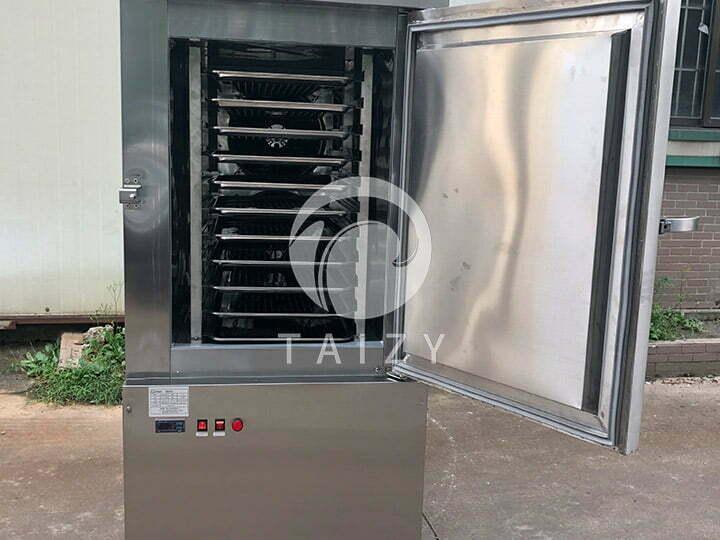 quick frozen chips freezing machine inner
