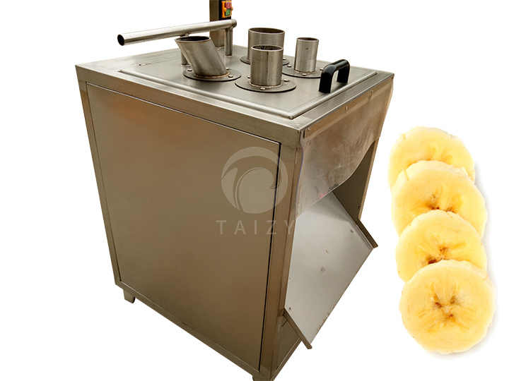 banana slices cutting machine