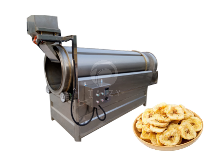 banana chips seasoning machine