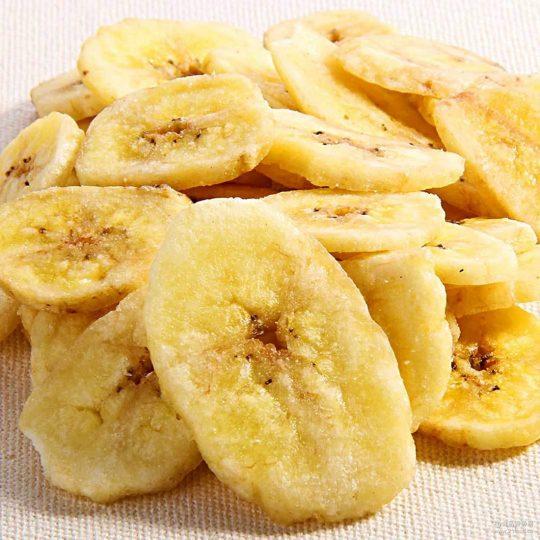 100kg banana chips processing line