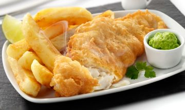 fish and french fries