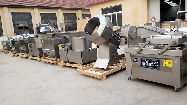 potato chips processing machine