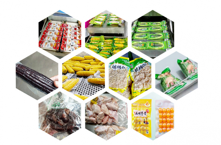 vacuum packing machine application