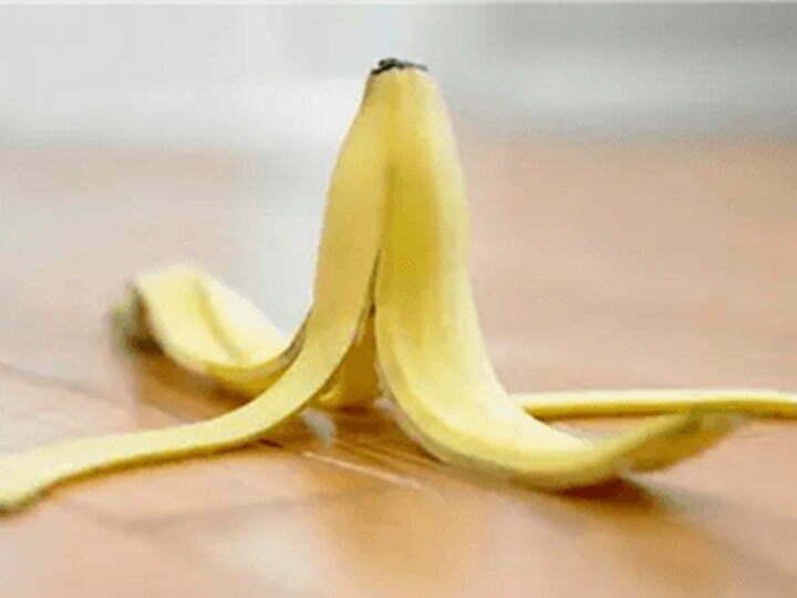 peeled banana skins usage