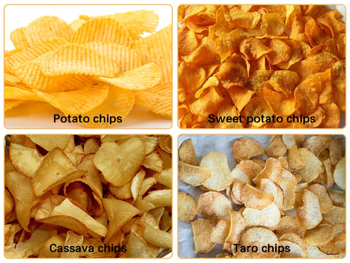 potato chips making machine application