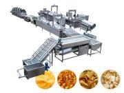 potato chips processing plant