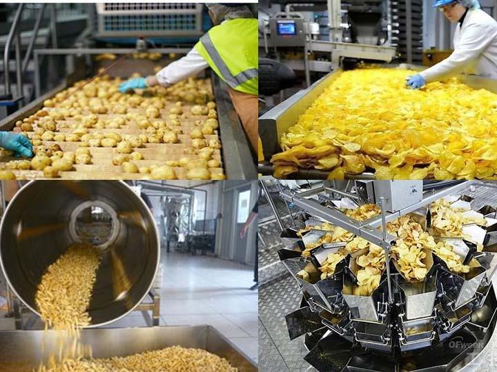 potato chips production process