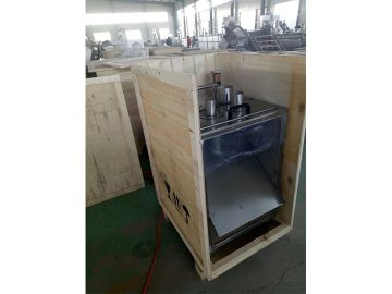banana slicer machine before delivery